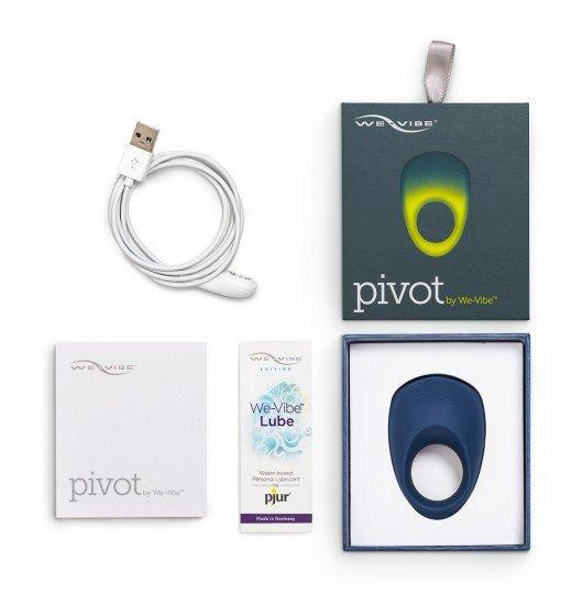 We-Vibe Pivot - pierścień wibrujący na penisa (granatowy)