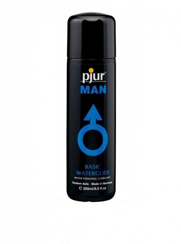 pjur MAN Basic Waterglide 250 ml - lubrykant na bazie wody