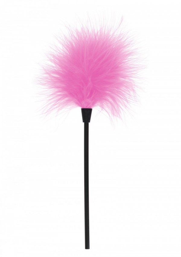 Toyjoy - piórko do łaskotania Sexy, różowe (Feather Tickler Pink)
