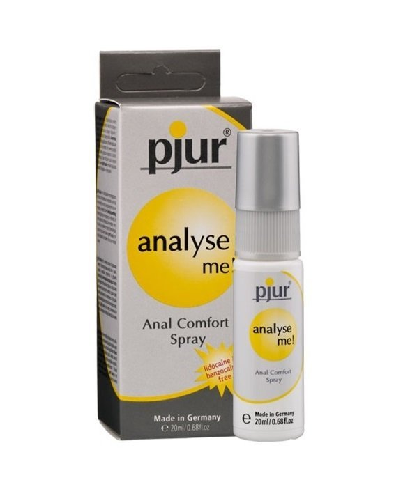 pjur Analyse Me! 20 ml Spray - silikonowy spray analny
