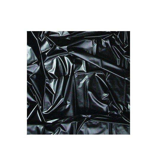 Joydivision Feucht-Spielwiese - prześcieradło winylowe, czarne (180 x 260)