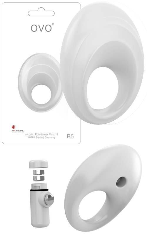 Pierścień erekcyjny Ring B5 White