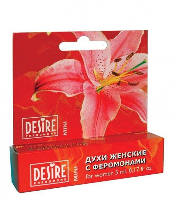 Desire for Women Mini 5ml perfumy z feromonami - damskie