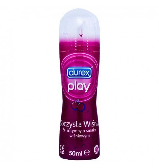 Żel intymny nawilżający DUREX Play soczysta wiśnia 50ml różowy