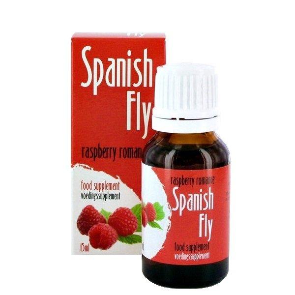 Spanish Fly Raspberry 15 ml - hiszpańska mucha o smaku malinowym