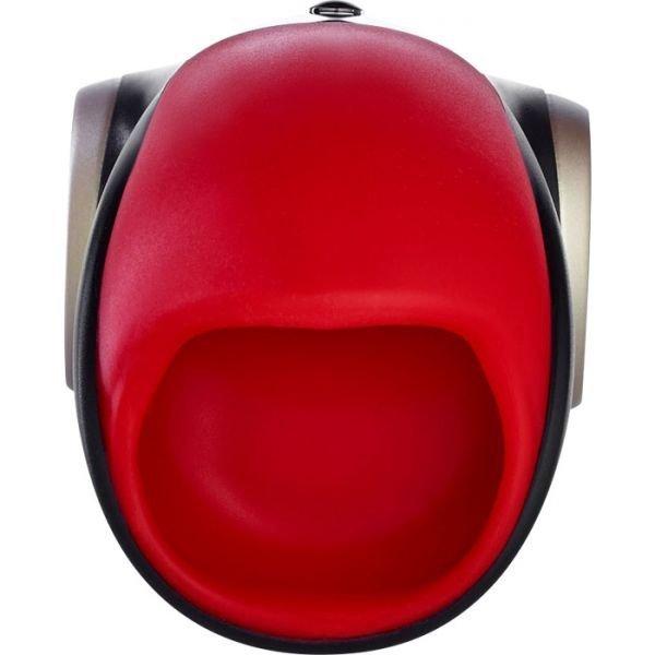 FUN FACTORY COBRA libre II - masturbator oralny (czerwono-czarny)