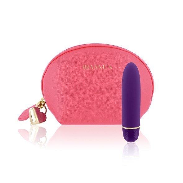 Rianne S - Classique Vibe - Mini Wibrator (głęboki fiolet)