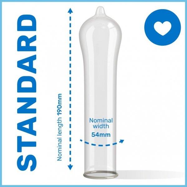 Pasante Regular - Prezerwatywy dopasowujące kształt (1op./12szt.)
