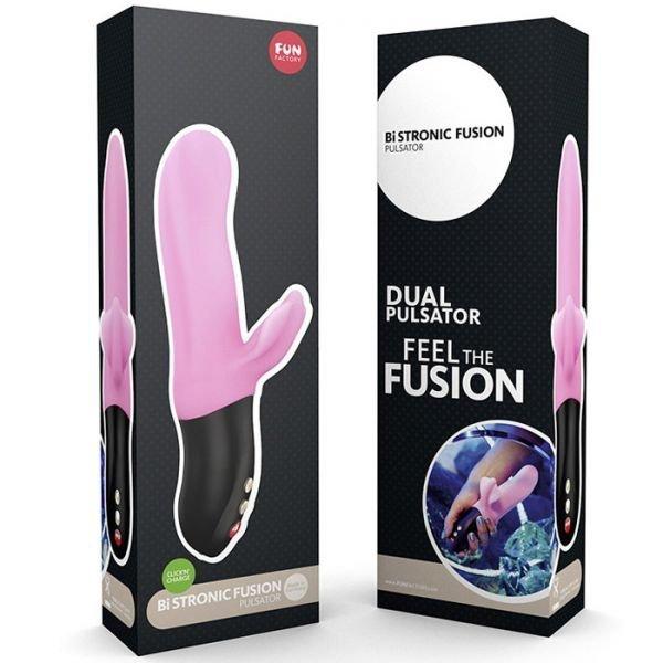 Pulsator FUN FACTORY  BI STRONIC Fusion, różowy