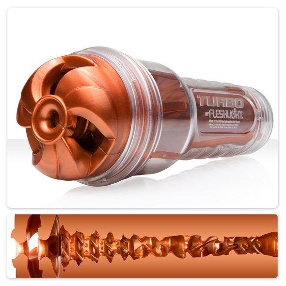 Masturbator Fleshlight Turbo Thrust Copper - masturbator oralny