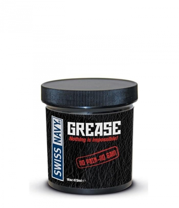 Swiss Navy Original Grease - Smar do masturbacji 473 ml - żel silikonowy