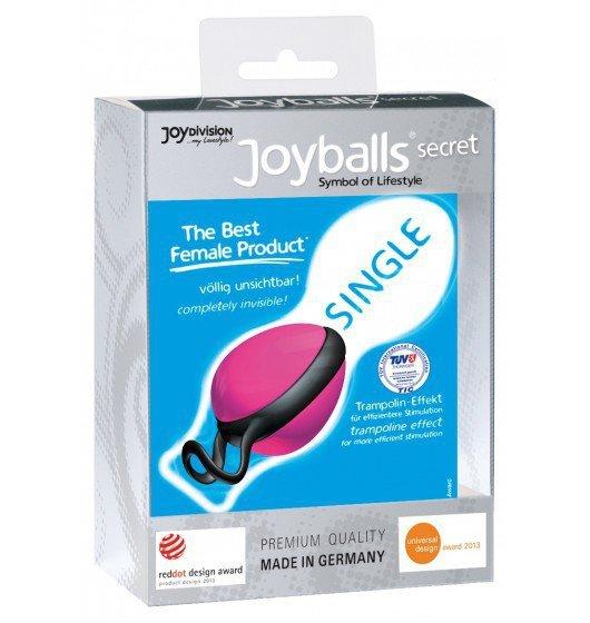 Kulki gejszy Joyballs Secret Single (róż/czerń)