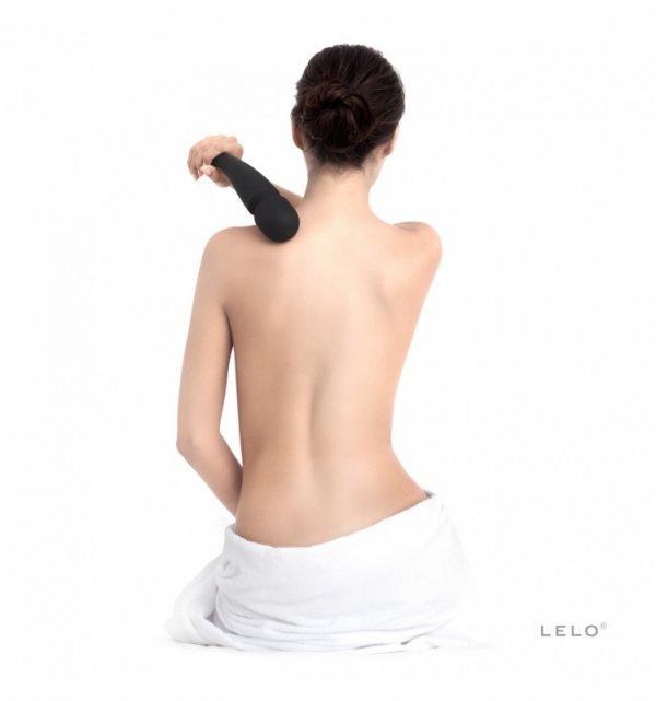 Różdżka masująca LELO - Smart Wand Large, czarny