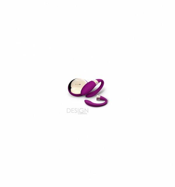Masażer dla par LELO - Tiani 2, wiśniowy