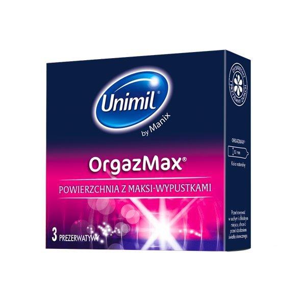 Prezerwatywy UNIMIL: Orgazmax (1op./3szt.)