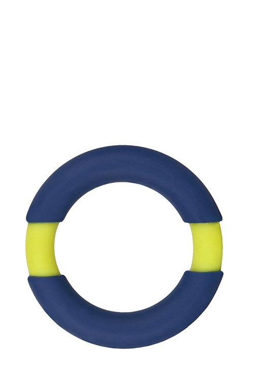 Neon Stimu Ring 42mm Blue/Yellow
