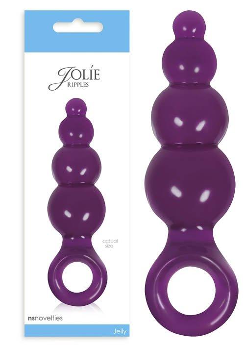 NS Novelties Jolie Ripples Medium Plum