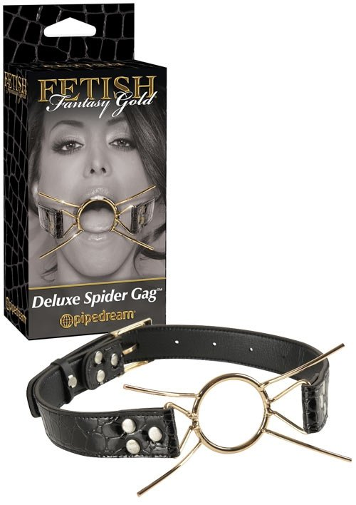 Ff Gold Deluxe Spider Gag