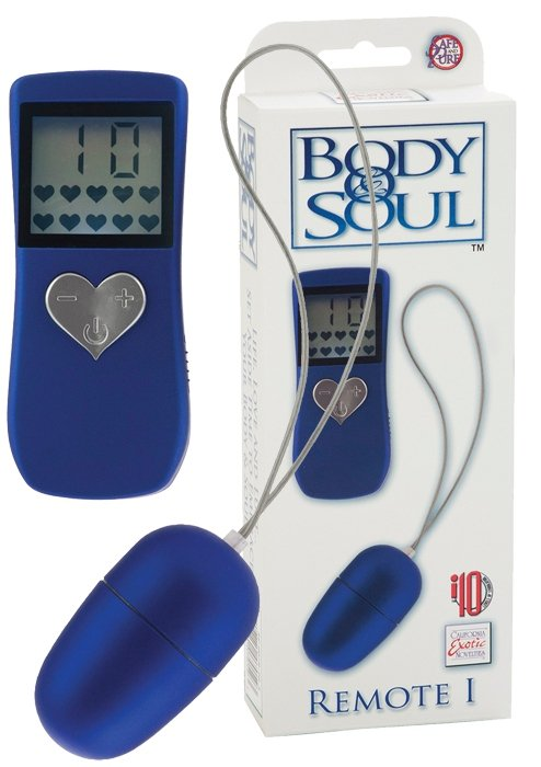 BodyandSoul Remote 1 Blue