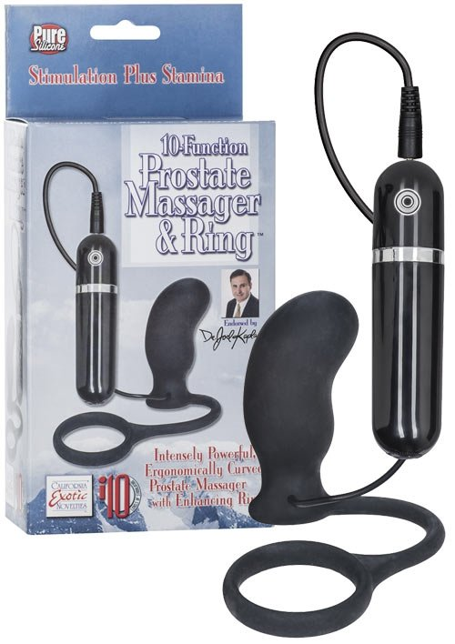 Dr. Joel 10 Funct. Massager and Ring
