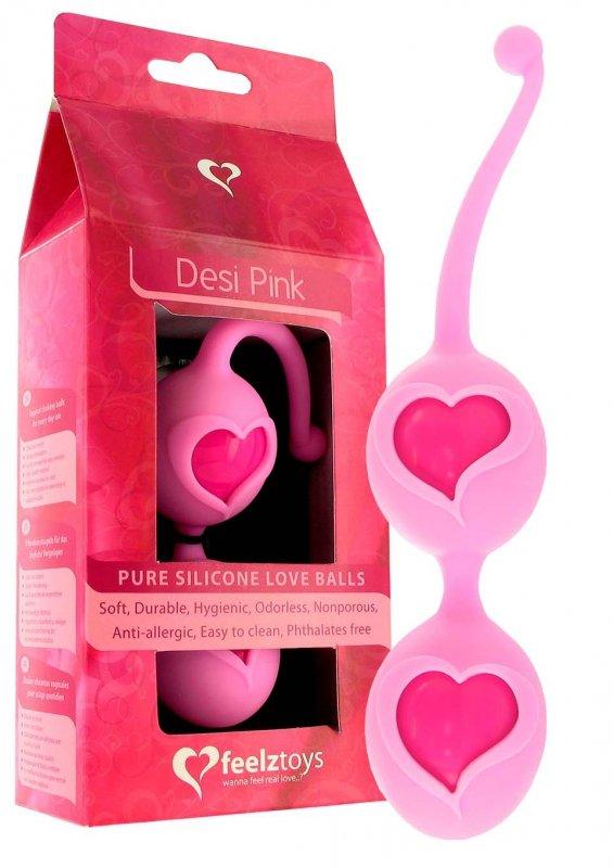 Feelztoys Desi Loveballs Pink