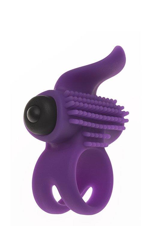 Adrien lastic Bullet Lastic Ring Purple
