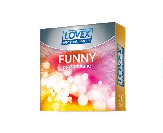 Osłonki Loveex Funny ( 1op. x 3 szt.)