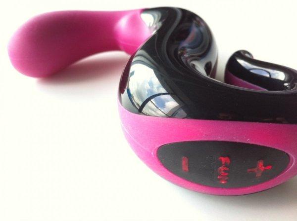 Stymulator FUN FACTORY DeLight, jeżynowy-czarny (wibrator dla kobiet)
