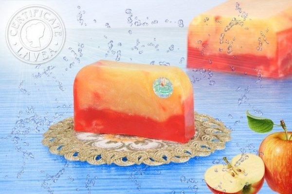 Mydło jabłko z cynamonem BIO 100g