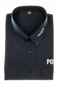 Koszula policyjna granatowa - krótki rękaw