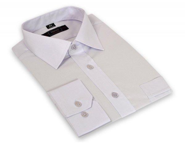 Koszula męska Slim - wrzosowa