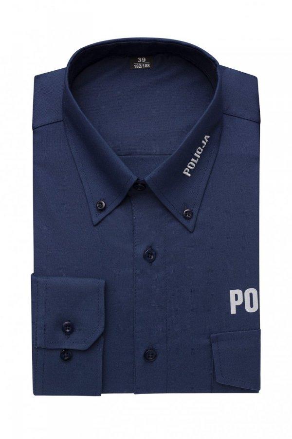 Koszula policyjna granatowa