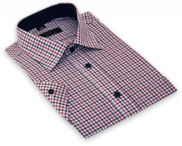 Koszula z długim rękawem - w kolorową krateczkę