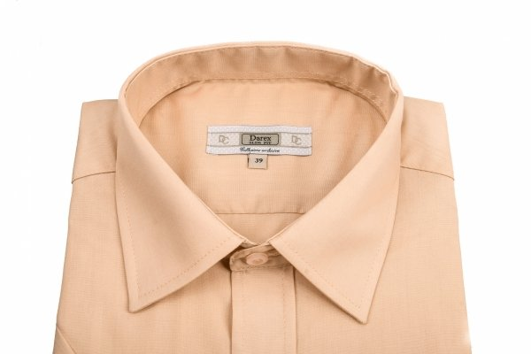 Koszula męska Slim  - beżowa