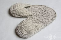 Kapcie bawełniane