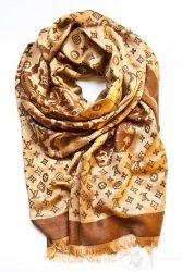 Patterned shawl