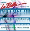LaBella  Phosphor Bronze VAPOR SHIELD 10-50 Struny do gitary akustycznej