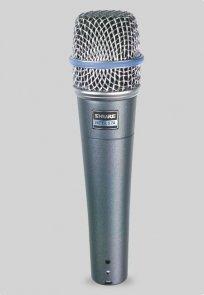 SHURE Beta 57A Dynamiczny mikrofon instrumentalny