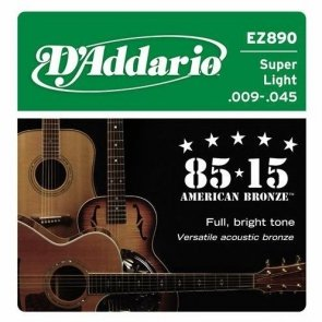 D`Addario EZ890 super light 9-45