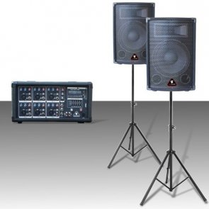 IGO SYSTEM PA300M-Zestaw nagłośnieniowy z odtwarzaczem MP3