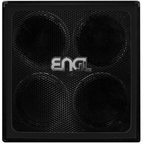 ENGL E412RG RETRO CABINET 4x12 STRAIGHT BLACK FRAME CELESTION G12H70 ANNIVERSERY SPEAKER SERIES