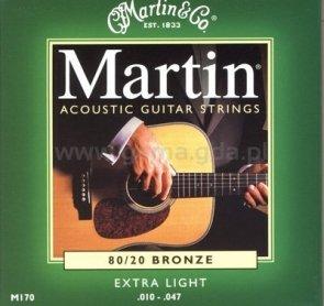 Martin M-170 struny do gitary akustycznej
