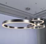 Lampa wisząca RING 100 srebrna