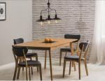 Stół drewniany/rozkładany FELICIO 150x90 dąb