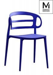 Krzesło MARCUS ciemnoniebieskie