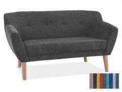 Sofa BERGEN 2 ciemno szara/buk