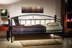 Łóżko ANKARA 90x200 czarne