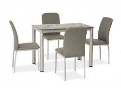 Stół DAMAR 100x60 szary