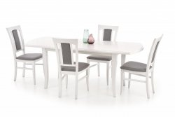 Stół rozkładany FRYDERYK (160x200) biały