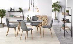 Stół NEXT dymiony/dąb miodowy